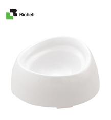 Richell利其尔 白色便利餐碗