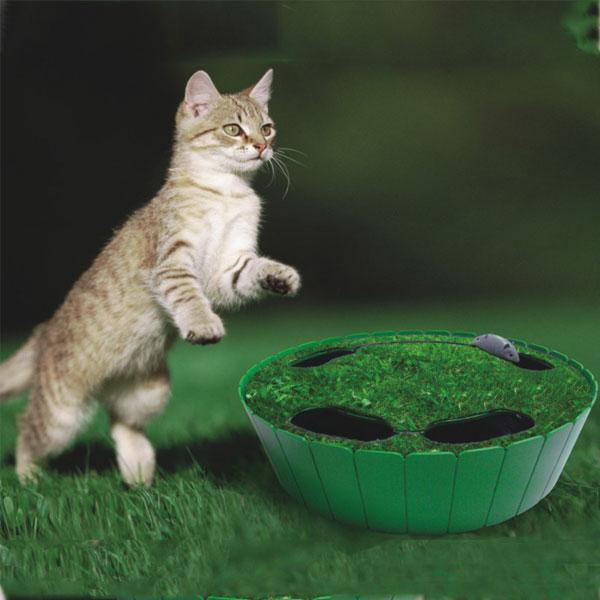 catppy 旋转钻地鼠—猫玩具