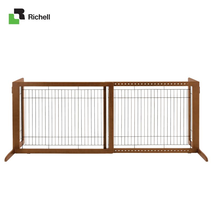 Richell利其尔 木制放置型门栏