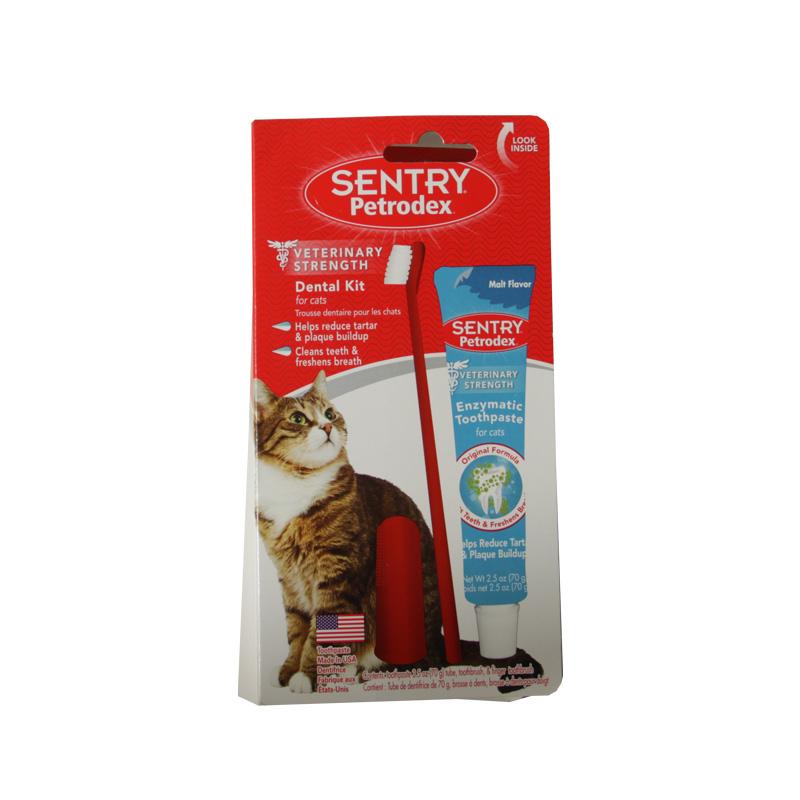 SENTRY—猫用口腔护理3件套