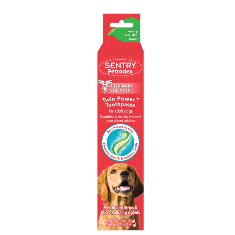 SENTRY—成犬用美白双效牙膏薄荷鸡肉味70克
